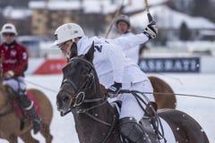 Śnieżny polo puchar świata Sankt Moritz 2016 Zdjęcie Royalty Free