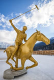Śnieżny polo puchar świata Sankt Moritz 2016 Fotografia Stock
