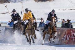 Śnieżny polo puchar świata Sankt Moritz 2016 Fotografia Royalty Free