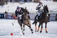 Śnieżny polo puchar świata Sankt Moritz 2016 Obraz Stock