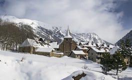 Śnieżny raj obrazy royalty free
