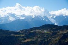 Śnieżny szczyt Fotografia Royalty Free