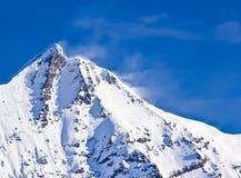 Śnieżny szczyt Zdjęcie Stock