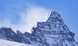 Śnieżny szczyt Obraz Royalty Free
