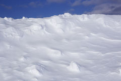 Śnieżny wzgórze Zdjęcie Royalty Free