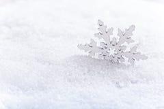 Śnieżny zima tło zdjęcia stock