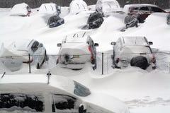 Europa w śniegu. Fotografia Royalty Free
