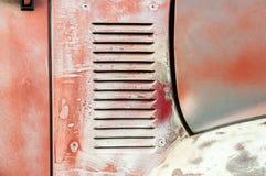 Śniedź pojazdu panel zdjęcie royalty free
