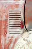 Śniedź pojazdu panel fotografia royalty free