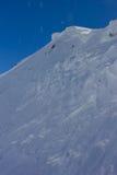 Śnieg ściana Zdjęcie Royalty Free