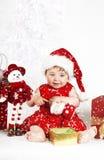 śnieg dziecka Obraz Stock