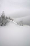 śnieg fale obraz stock