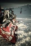 śnieg i Zdjęcie Stock