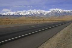 Śnieg Nakrywać góry, sierra Nevada pasmo, Kalifornia obraz royalty free
