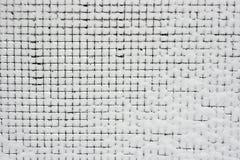 śnieg płotu Obrazy Royalty Free