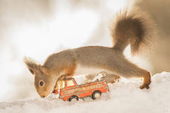 Śnieg przejażdżka Obrazy Royalty Free
