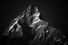 Śnieg przy himalaje szczytu Everest górą obrazy royalty free