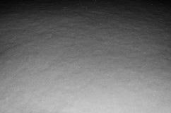 Śnieg przy nocą. Zdjęcie Royalty Free