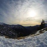 Śnieg w Południowym Kalifornia Obrazy Royalty Free