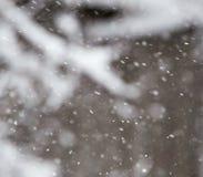 Śnieg w powietrzu jako tło obraz royalty free