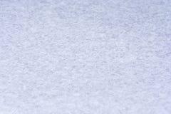 Śnieg w zbliżeniu jako mroźny biały tło fotografia royalty free