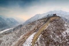 śnieg wielka ściana Fotografia Royalty Free