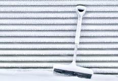 Śnieg Zakrywająca Śnieżna łopata Obrazy Royalty Free