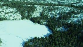 Śnieg zakrywająca zmielona plandeka góra krajobraz zbiory