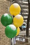 Śniegi Nakrywający balony zdjęcie royalty free