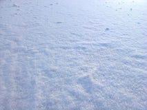 Śniegu nawierzchniowy tło Obrazy Stock