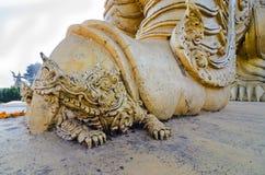 Śpiewa brzęczenie statui antycznego przedmiot w Tajlandia Zdjęcia Royalty Free