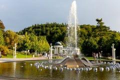 Śpiewacka fontanna swój rozmaitość fotografia royalty free