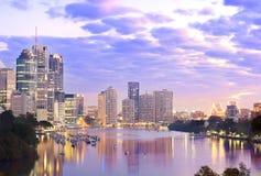 Śródmieście Brisbane fotografia stock