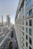 Śródmieście Dubai miasto zdjęcie stock