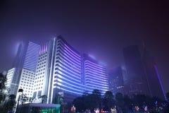 Śródmieście Guangzhou w porcelanie obrazy stock