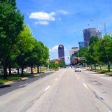 Śródmieście Indianapolis Zdjęcie Royalty Free