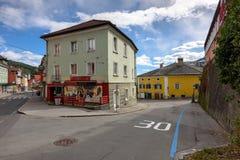 Śródmieście Spittal dera Drau Austria zdjęcia royalty free