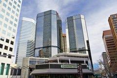 Śródmieście w Denver Zdjęcia Stock