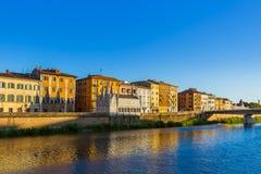 Śródmieście w Pisa Włochy fotografia royalty free