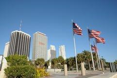 śródmieście zaznacza Florida Miami obrazy royalty free
