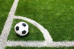 śródpolna futbolowa piłka nożna Zdjęcie Royalty Free