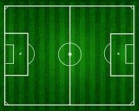 śródpolna futbolowa piłka nożna Fotografia Stock