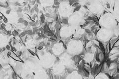 Śródpolna kwitnie kwiatu nafcianego koloru sztuka fotografia stock