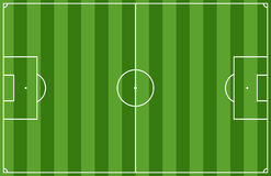 śródpolna piłka nożna Zdjęcie Stock