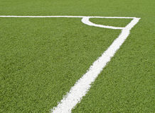 śródpolna piłka nożna Obraz Royalty Free