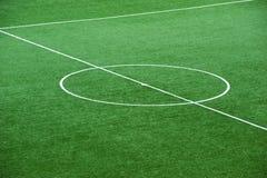 śródpolna piłka nożna Zdjęcia Royalty Free