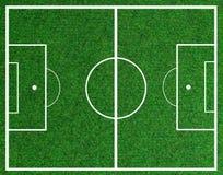 śródpolna piłka nożna ilustracja wektor