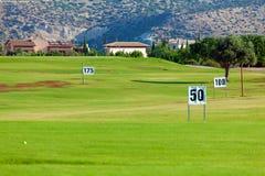 śródpolny golfowego pasma strzałów target1849_1_ fotografia stock