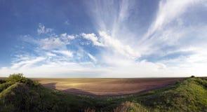 Śródpolny krajobraz w Serbia Obraz Royalty Free
