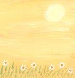 śródpolny kwiat ilustracji